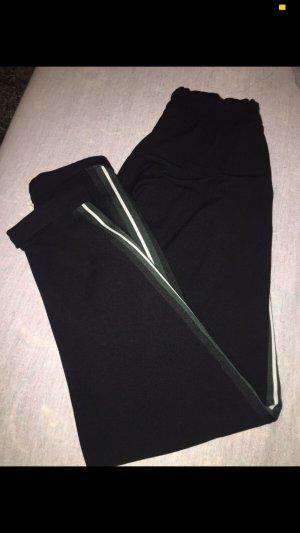 Bershka Pantalone jersey nero