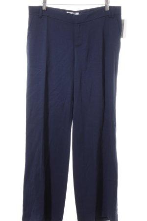 Stoffhose blau schlichter Stil