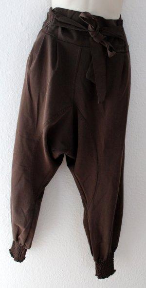 Anna Field Jersey Pants brown mixture fibre