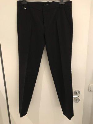 Zara Pantalón tipo suéter negro