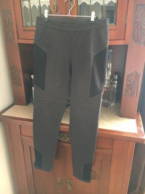 Seductive Pantalon strech taupe-noir