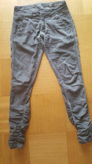Cream Pantalone chino grigio scuro Cotone
