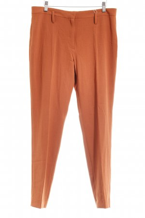 Stoffhose dunkelorange Business-Look