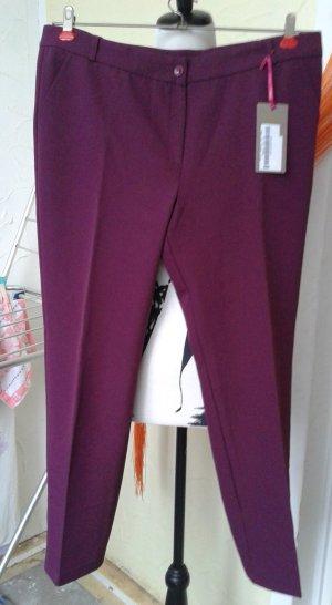 Belle Pantalon en jersey violet