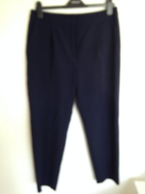 Asos Pantalón tobillero azul oscuro