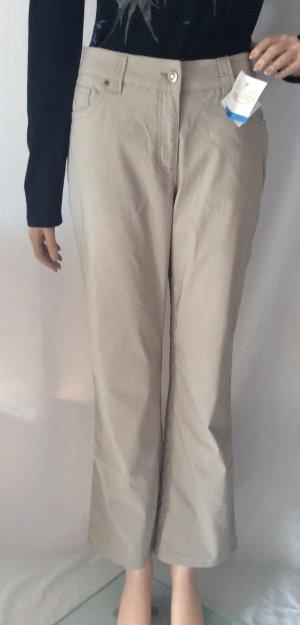 Cecilia Classics Pantalone cinque tasche crema Viscosa