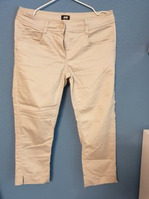 H&M 3/4-broek licht beige