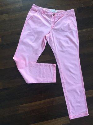 Stoffhose in rosa von H&M