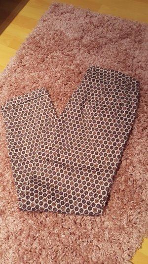 stoffhose in terracotta beige von Ashley Brooke