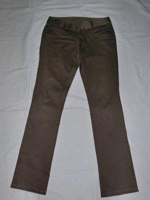 Vero Moda Pantalone cinque tasche marrone-grigio