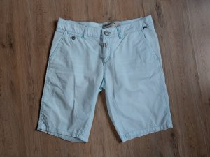 Timezone Denim Shorts baby blue