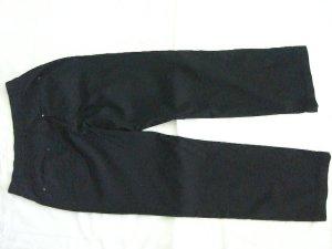 Biaggini Pantalón tipo suéter negro tejido mezclado