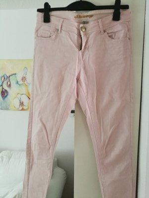 Stoffhose rosa