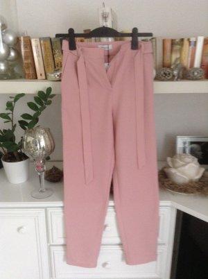 Stoffen broek stoffig roze