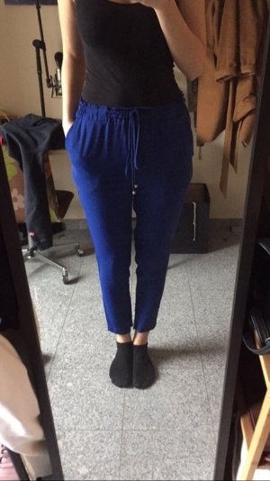 Stoffhose royalblau Königsblau