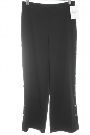 Stoffhose schwarz Elegant