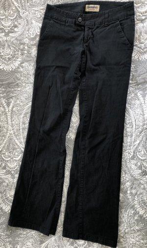 Stoffhose schwarz W27