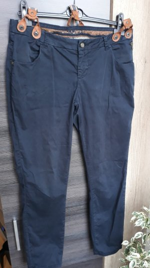Twenty Three by Miss America Boyfriend Trousers dark blue