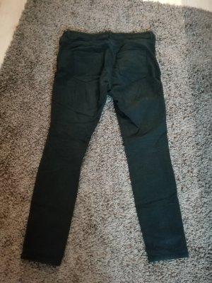 Cecil Pantalone jersey nero-blu scuro