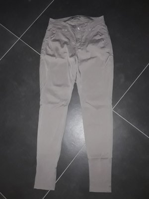 Drykorn Chino stoffig roze-zilver Lyocell