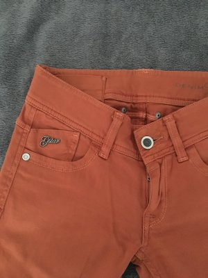 G-Star Lage taille broek donker oranje-oranje