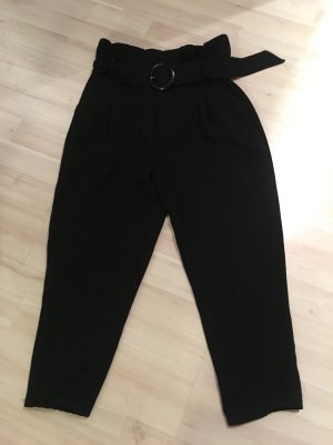 Mango 3/4 Length Trousers black