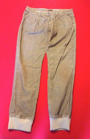 Please Corduroy Trousers light brown cotton