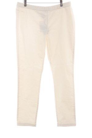 Pantalone jersey bianco sporco stile casual