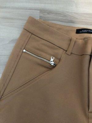Stoffhose Zara camel Gr. S