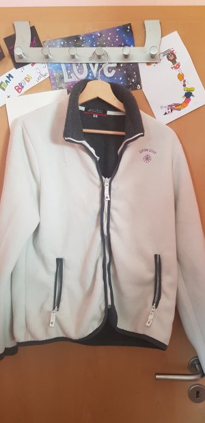 Authentic Fleece Jackets white-black