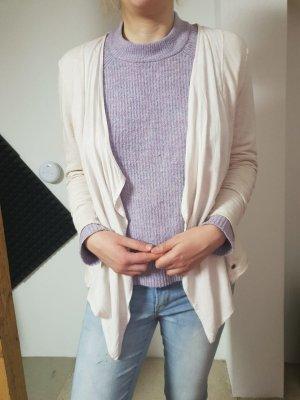 Simclan Wraparound Jacket light pink-pink cotton