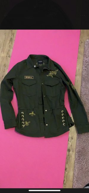 Guess Military Jacket olive green