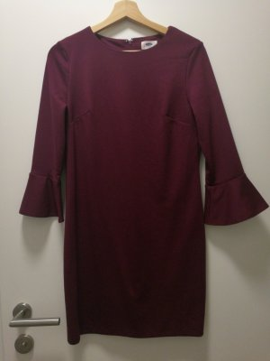 Old Navy Flounce Dress bordeaux