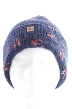 Sombrero de tela estampado floral estilo romántico