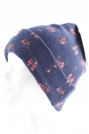 Chapeau en tissu motif floral style romantique