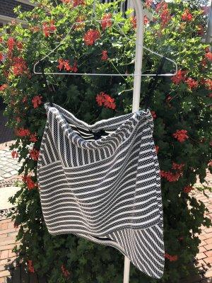 Atmosphere Miniskirt black-white