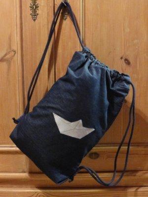 Mochila escolar azul oscuro Algodón