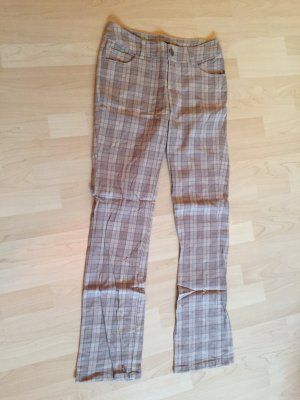 Flares grey brown cotton