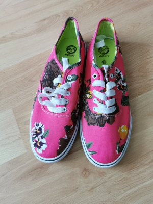 Skater Shoes pink-green