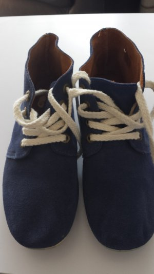 Stoffschuhe Blau Gr.39