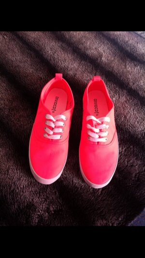 Mary Janes pink-orange