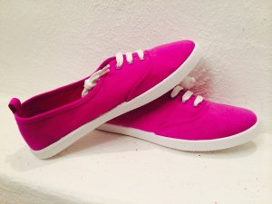 Stoffschuhe Pink Größe 37