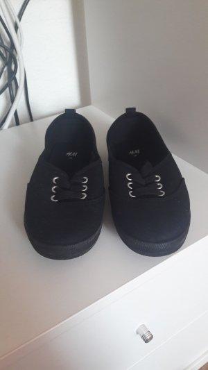 Stoffschuhe Schuhe von H&M Größe 36 schwarz