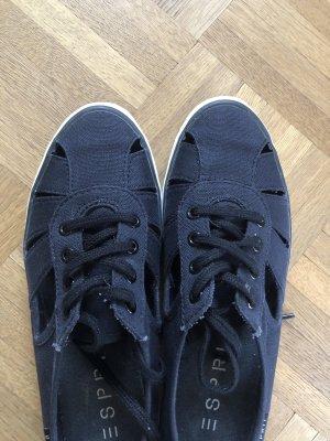 Stoffschuhe, Sneaker, schwarz, Esprit