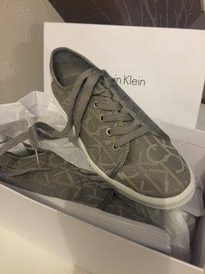 Calvin Klein Lace-Up Sneaker light grey