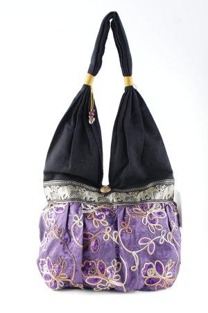 Canvas Bag floral pattern Boho look