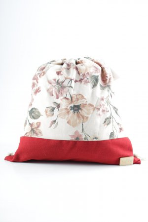 Canvas Bag floral pattern street-fashion look