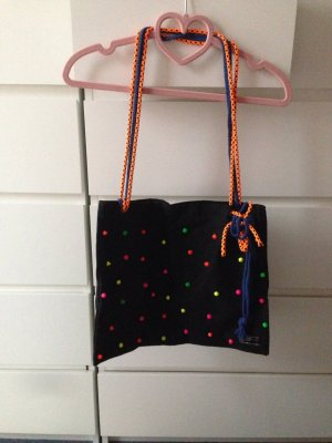 Canvas Bag black-neon orange