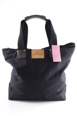 Stofftasche schwarz Casual-Look