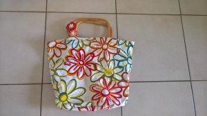 Esprit Carry Bag white-brick red cotton